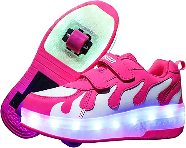 Ufatansy USB Charging Shoes Roller