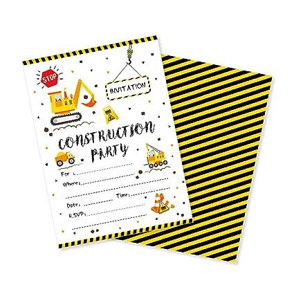 Amazon.com: Cc Home - Invitaciones de cumpleaños con sobres ...
