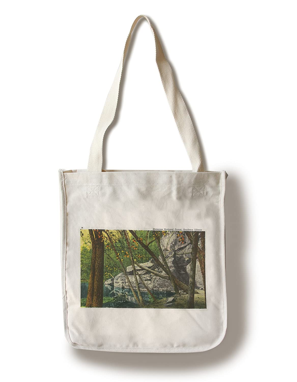Shawnee National National Forest , Illinois – 風景in LANT-26497-TT Southern Illinois Bag Canvas Tote Bag LANT-26497-TT B074RTWK6Y 8oz Coffee Bag 8oz Coffee Bag, ドリームライフ 介護と健康のお店:54a2153e --- itxassou.fr