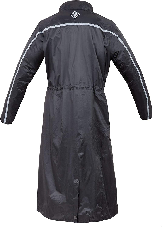 Schwarz Tucano Urbano Parabellum XXXXL Calf Length Fully Waterproof Jacket