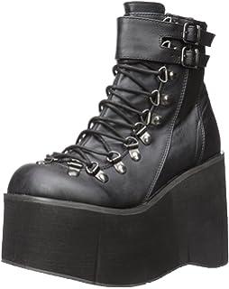 2353078de Amazon.com | Demonia Women's BEAR-104 Tiered Platform Ankle Boot ...