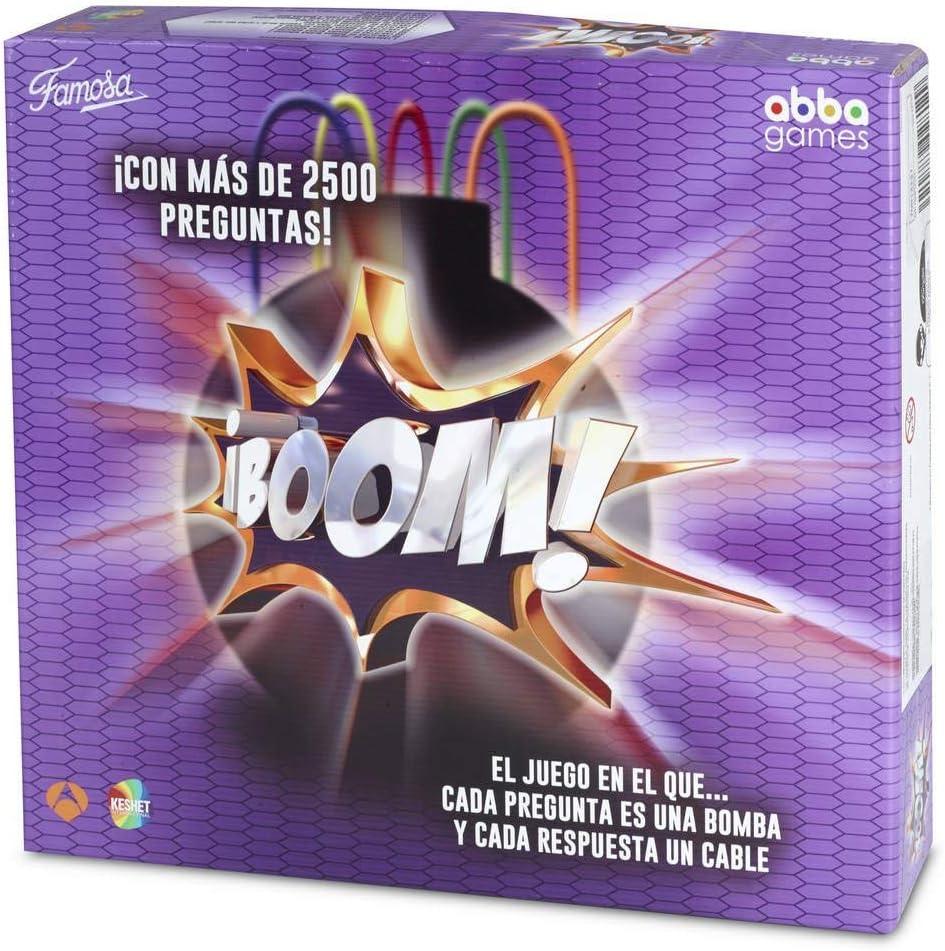 FAMOGAMES Boom Juego de Mesa Adultos (Famosa, 700013151): Amazon.es: Juguetes y juegos