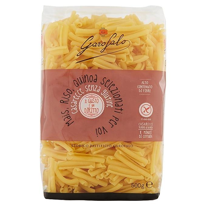 Casarecce Garofalo Pasta 500g Gluten libre