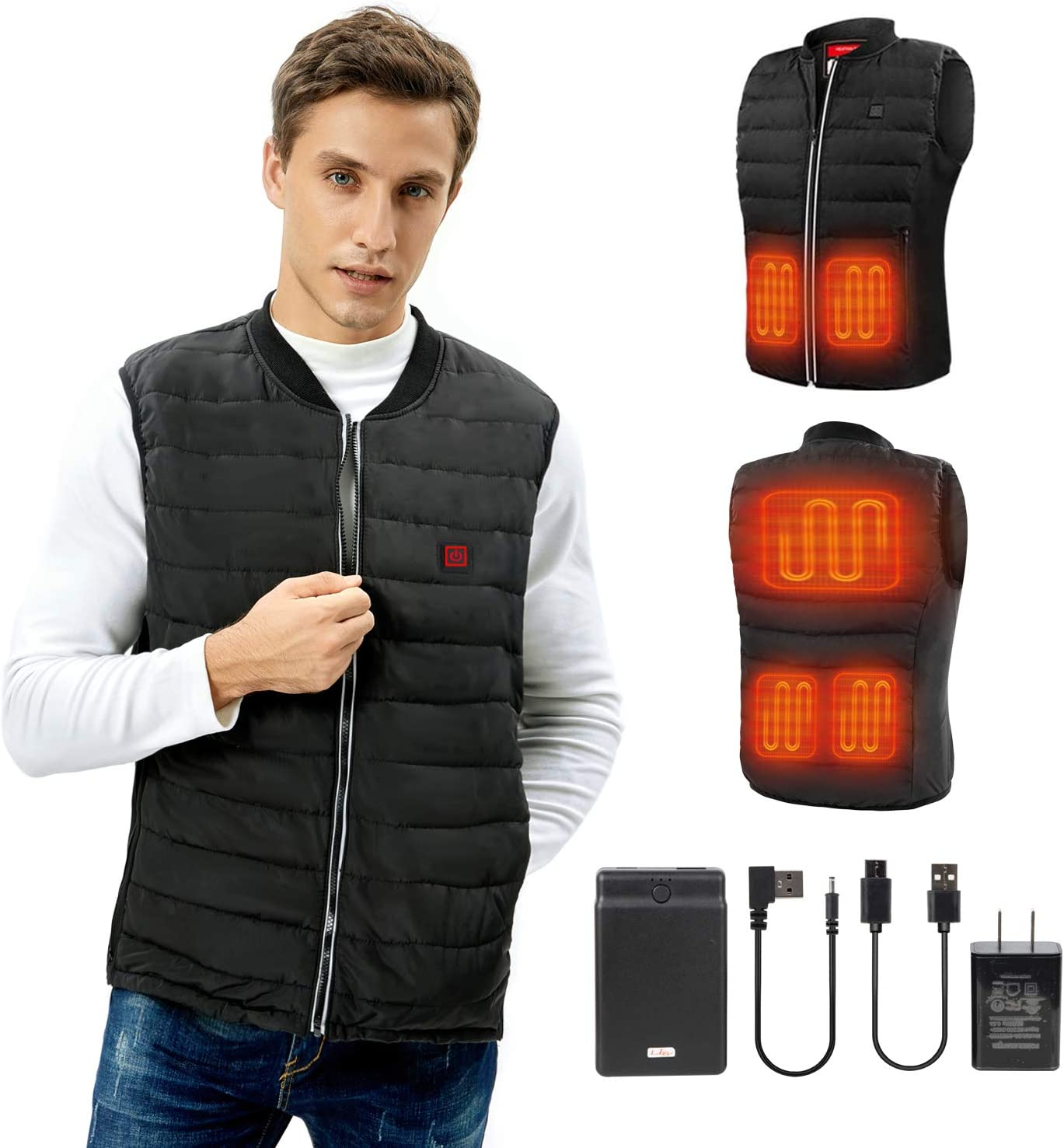 60% Off Coupon – Heated Vest for Men