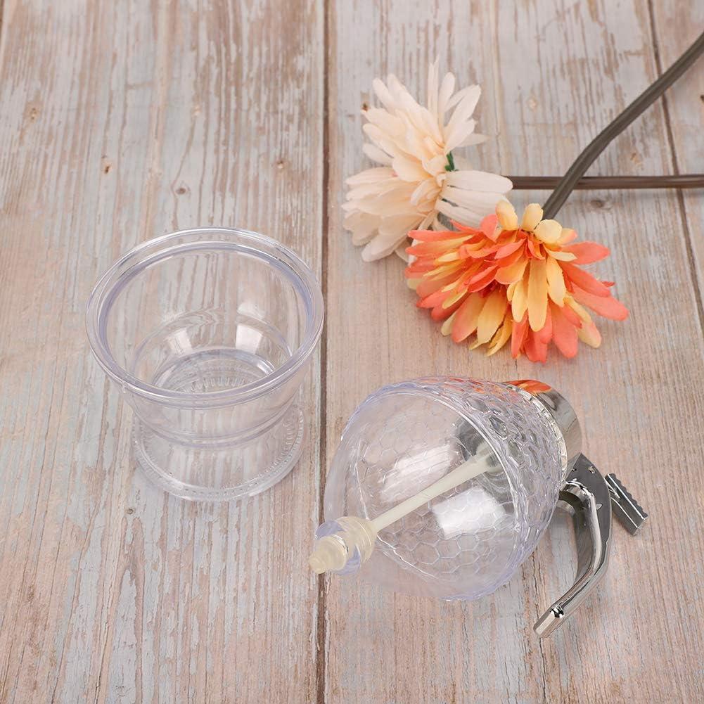 Honey Obliterator Pot, No Drip Honey Dispenser Honey Jar Honey Dispenser, for Home Honey Storing