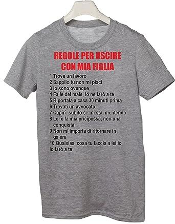 Regole per uscire con mia figlia t shirt UK