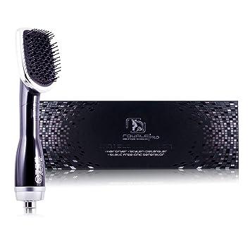 Amazon.com: Negro 2-en-1 soplador cepillo para polvo: Beauty