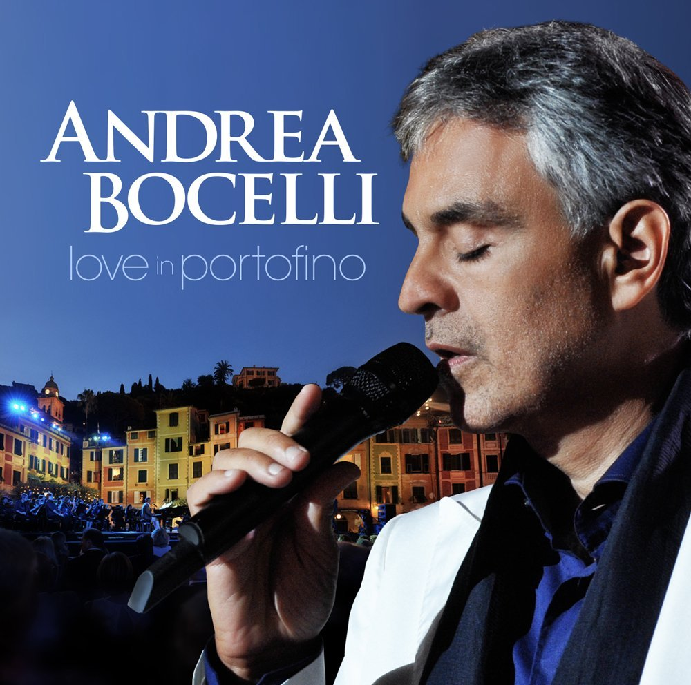 CD : Andrea Bocelli - Love in Portofino (With DVD, 2 Disc)
