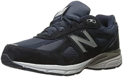 New Balance KJ990V4 Running Shoe (Little Kid/Big Kid), Navy, 10.5