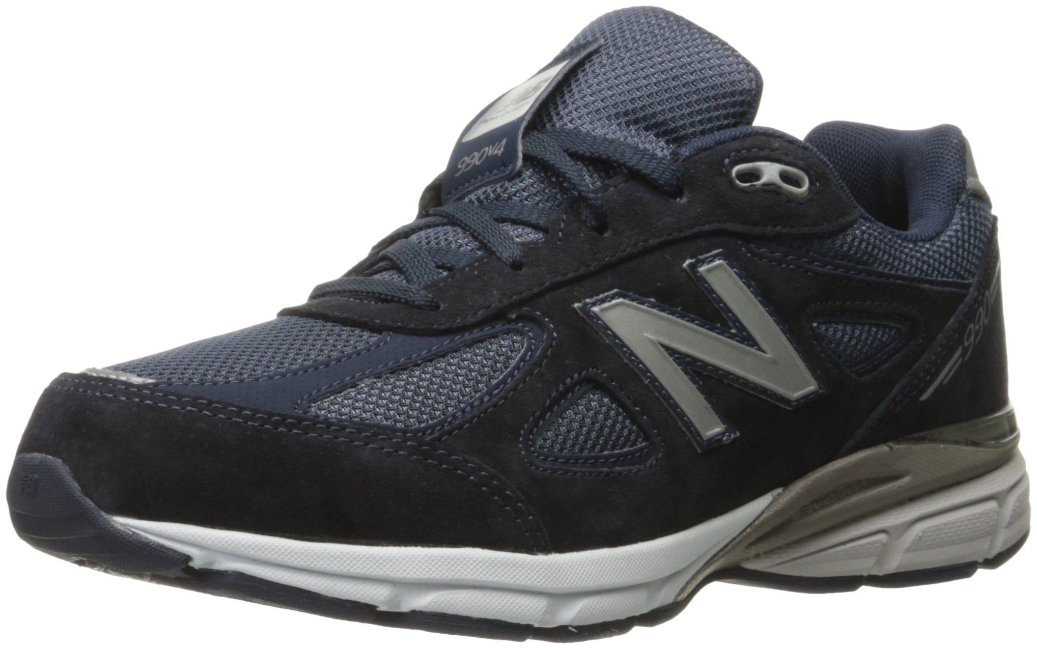 New Balance KJ990V4 Running Shoe , Navy, 1 W US Little Kid by New Balance (Image #1)