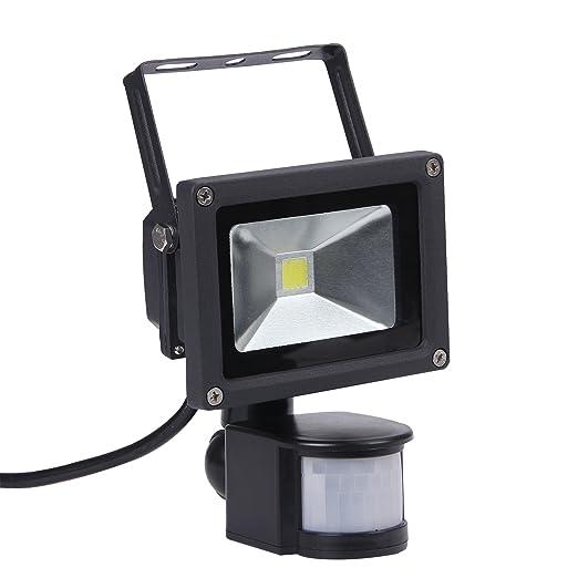 10w led motion sensor flood light pir led floodlightwaterproof 10w led motion sensor flood light pir led floodlightwaterproof ip65 100w halogen aloadofball Gallery