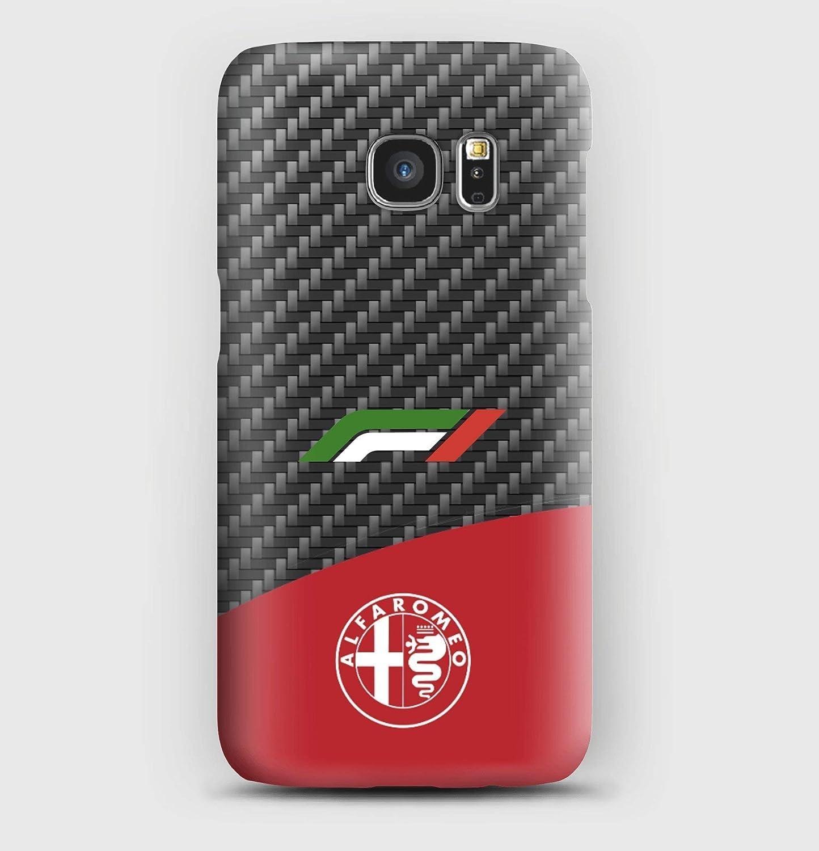 F1 Alfa Romeo coque pour Samsung S6, S7, S8, S9, A3, A5, A7,A8, J3, J5, Note 4, 5, 8,9, Grand prime,