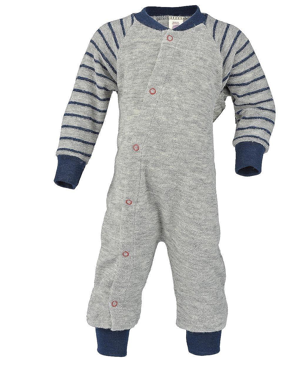 Baby und Kinder Schlafanzug Frottee Engel Natur 100/% Wolle