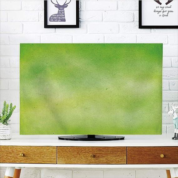 Funda para televisor LCD, diseño de Lunares, anclada, Abstracto, Vintage, náutico, Decorativo, Color Azul, Rojo, Blanco, Compatible con televisores de 70 Pulgadas: Amazon.es: Electrónica