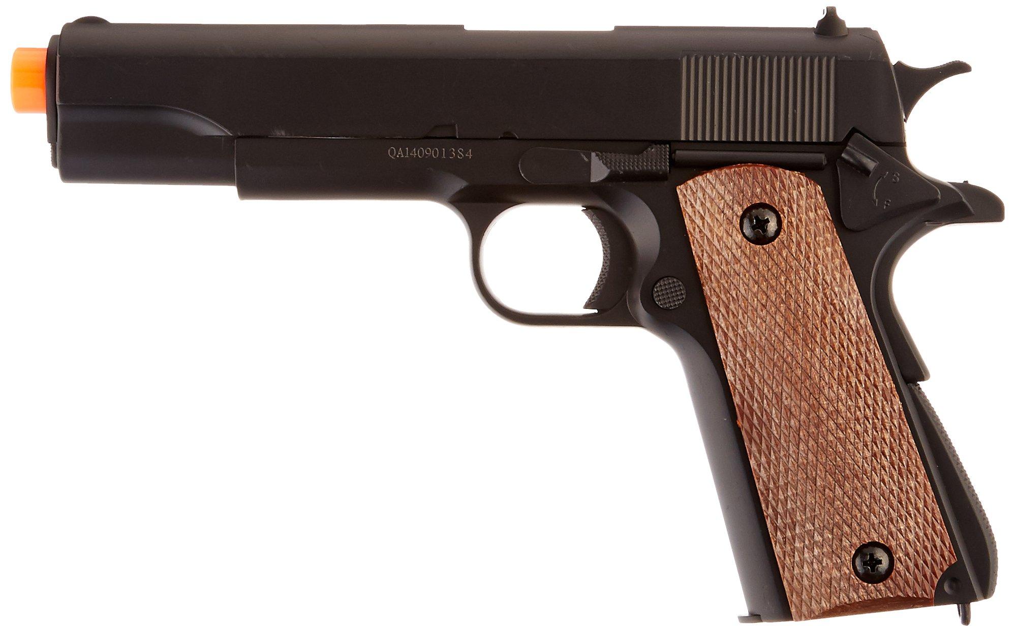 BBTac BT-1911A1 Metal and ABS Spring Airsoft Pistol 250-FPS Airsoft Gun