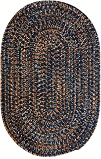 "product image for Capel Rugs Team Spirit Area Rug, 20"" x 30"", Navy Burnt Orange"