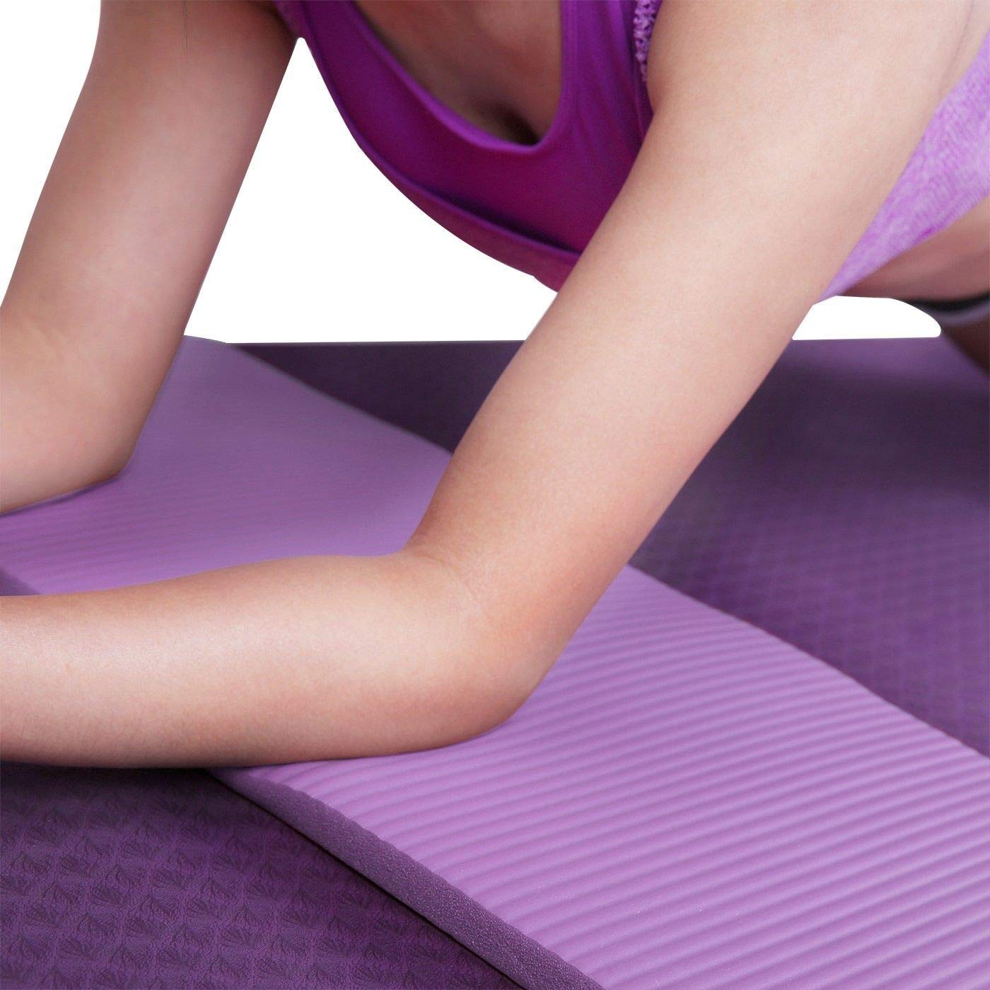 Amazon.com: 1 almohadilla de viaje para la rodilla de yoga ...