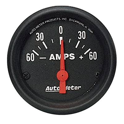 AUTO METER 2644 Z-Series Electric Ammeter Gauge: Automotive