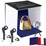 16x16 inches Table Top Photo Light Box Continous Lighting Kit Neewer Photo Box