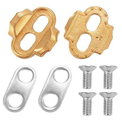 64fec8960 Amazon.com   XCSOURCE ROCKBROS Premium Cleats for Bike Pedals Crankbrothers  Eggbeater Candy Smarty Acid Mallet CS478   Sports   Outdoors