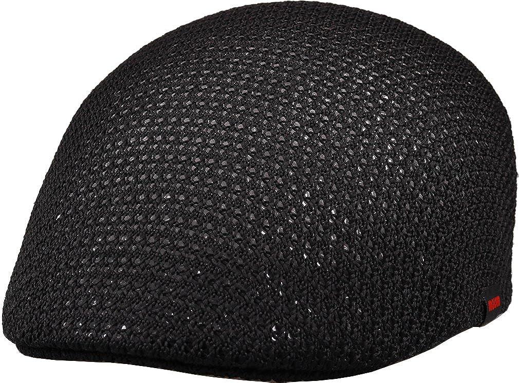 sujii BWXL Air Breathing Mesh Newsboy Flat Hat Cabbie Cap Ivy Hat XL Size