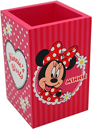 Joy Toy 91011 - Caja de madera Disney Minnie (7 x 7 x 11 cm ...