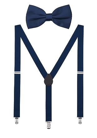 Design Pour DEBAIJIA Homme Ensemble Bretelle Papillon Chic avec ou Clips Femme Nœud 3 Unisexe Ados sCrBhdxtQ