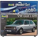 Revell 67072 - Maquette De Voiture - Vw Golf 1 Gti - 110 Pièces - Echelle 1/24