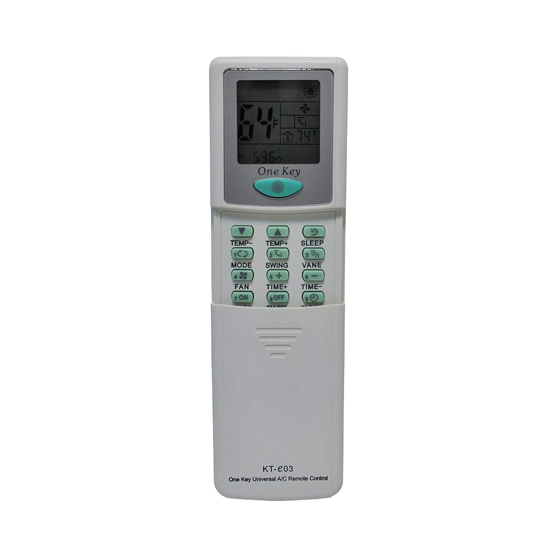 KT-E03 Universal Remote for All Major Brands of Mini Split AC Qunda