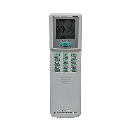 Qunda KT-E03 Universal Remote for All Major Brands of Mini