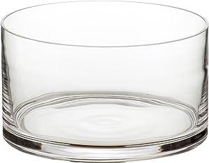Artland Simplicity Cylinder Salad Bowl, Clear