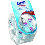 PURELL 390136BWL Advanced Instant Hand Sanitizer Gel, 1 oz Bottle, Lemon Scent, 36 Per Bowl (Case of 1 Bowl)