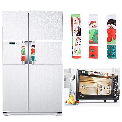Amazon.com: Padsin - Cubiertas para manillar de Navidad, 3 ...