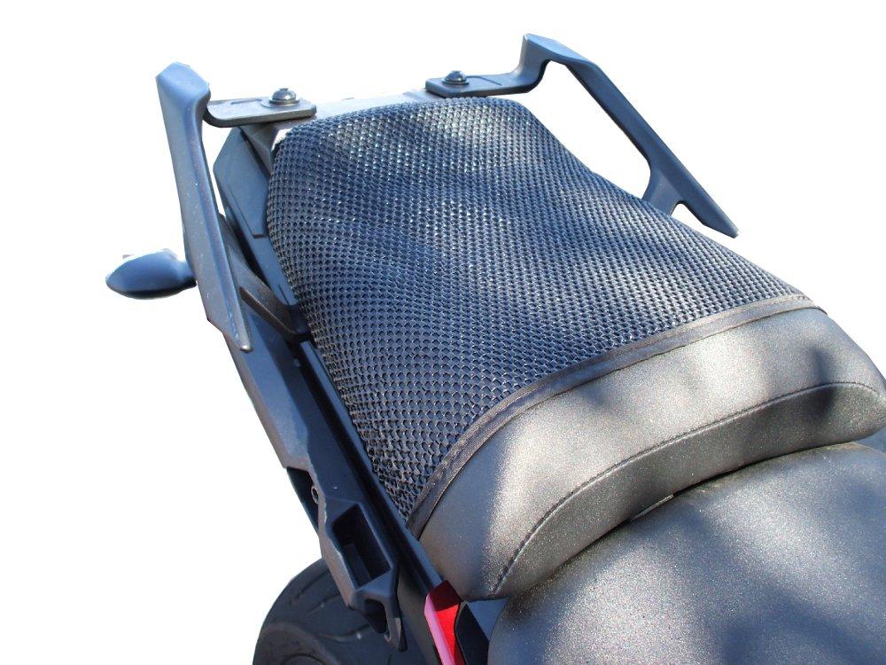 Cubierta TRIBOSEAT para Asiento Antideslizante Accesorio Personalizado Negro Compatible con Yamaha MT 09 Tracer 2015-2019
