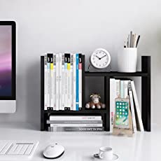 shelf for office. Jerry \u0026 Maggie - Desktop Organizer Office Storage Rack Adjustable Wood Display Shelf Free Style For