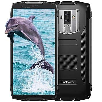 Blackview BV6800 Pro Móvil Antigolpes, 6580 mAh Batería, RAM de 4GB+ ROM de 64GB Dual SIM, 5.7 Pulgadas FHD +18: 9 Pantalla, 16+13MP Camaras, Android ...