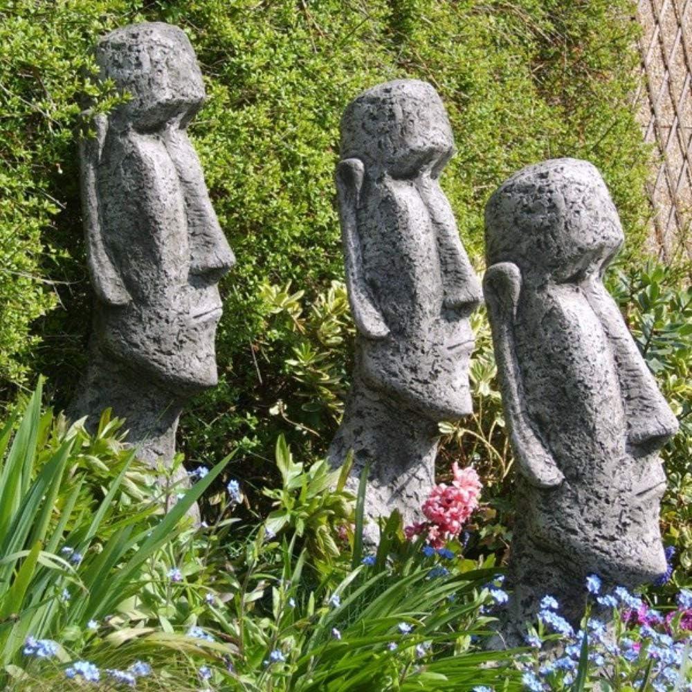 FIONA Scott Figura, Moai estatua de isla de Pascua: Amazon.es: Hogar