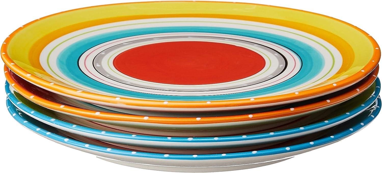 Certified International Mariachi Dinner Plates (Set of 4), 10.75