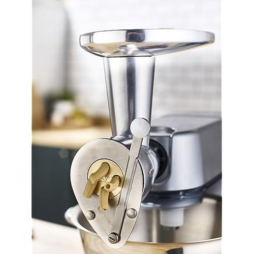 Kenwood KAX910ME Appareil à Pâtes Fraîches pour Robot Métal Inox Brillant 15 x 9 x 20 cm