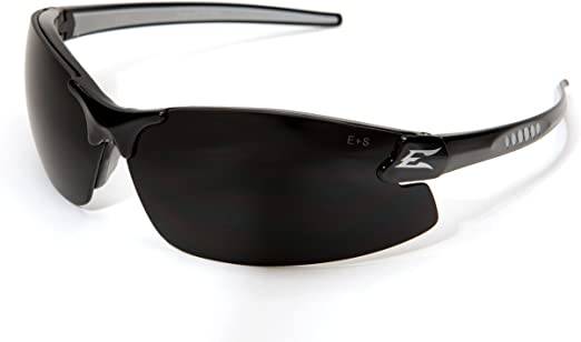 Black w//Smoke Lens 4x New Edge Eyewear DZ116-2.0-G2 Zorge Safety Glasses