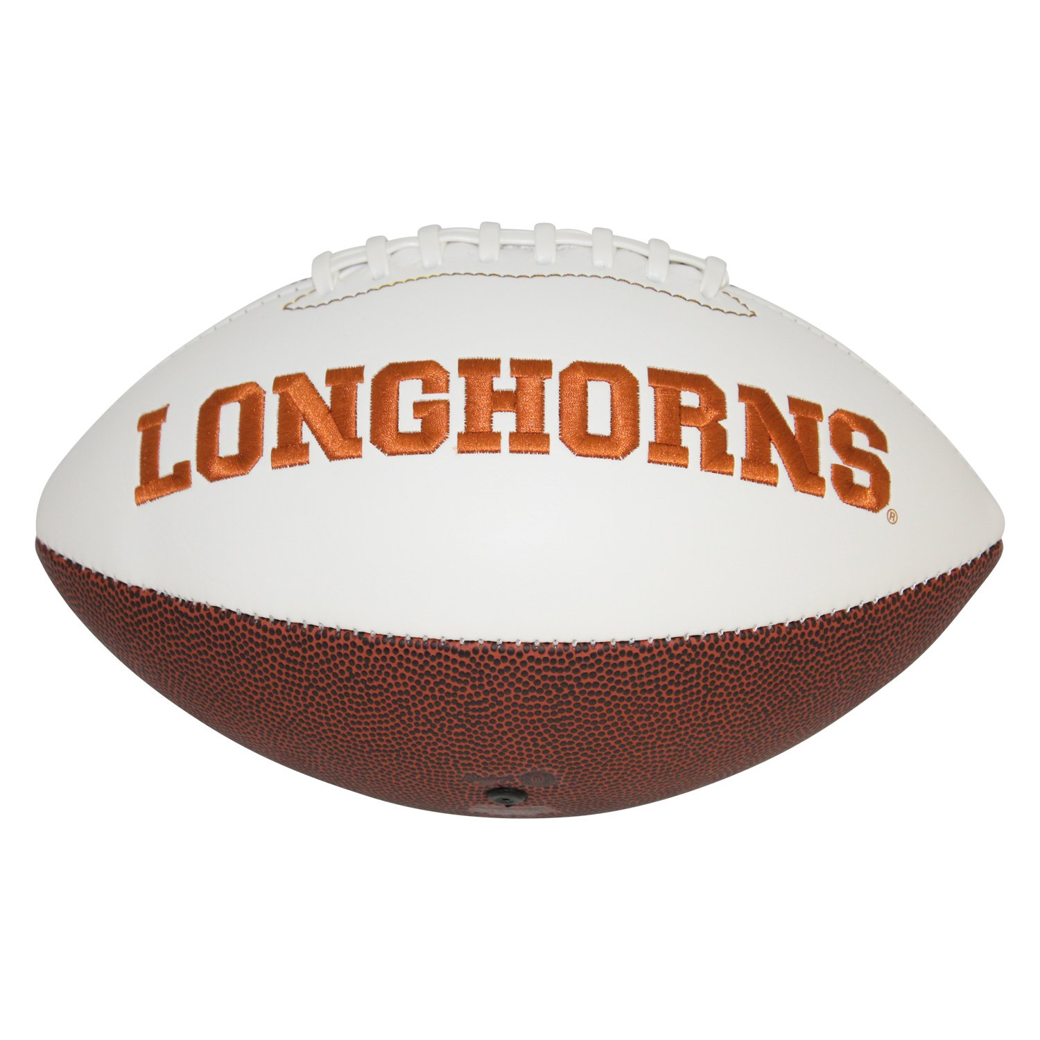 Tom Herman Texas Longhorns Autographed Signed White Panel Logo Football - Beckett Authentic