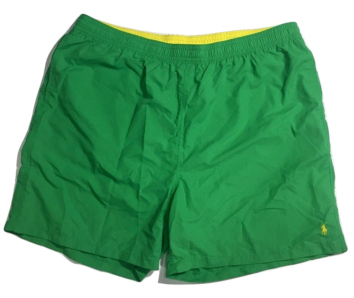 2b89a6bf93 Polo Ralph Lauren Swim Trunk Shorts Mens 4LT Big Tall Green with Yellow Pony  cheap