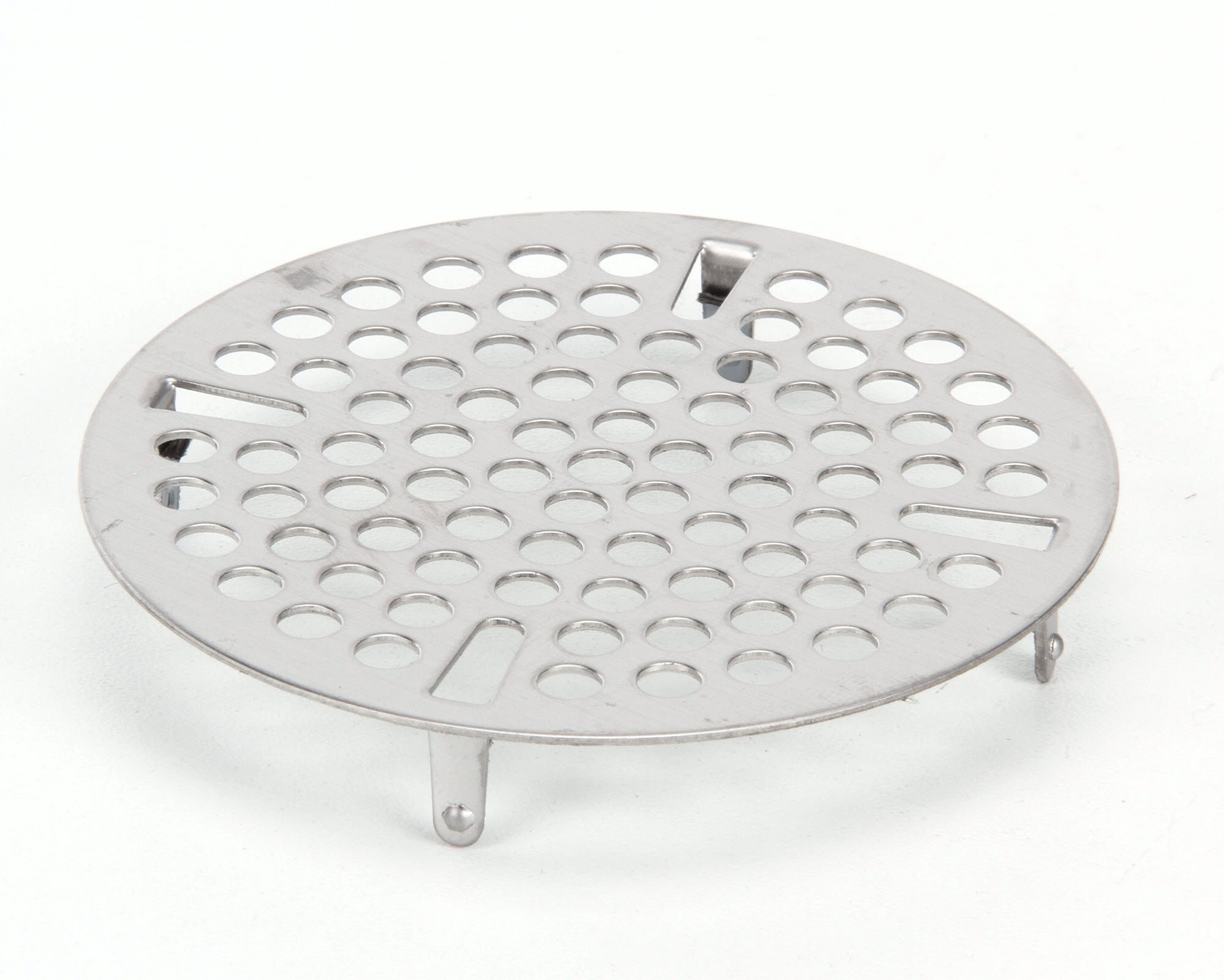 T&S Brass 010385-45 3-Inch Flat Strainer, Stainless Steel