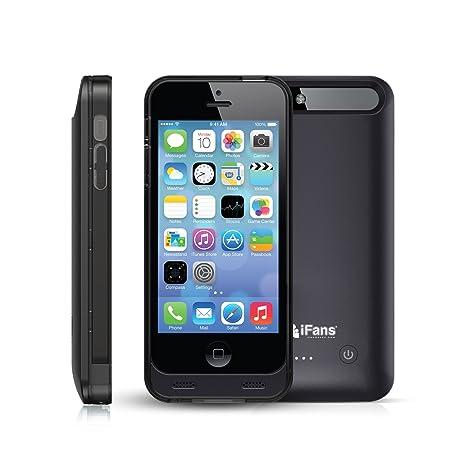 iPhone 5S funda cargador Ifans® [MFI certificado] Slim ...