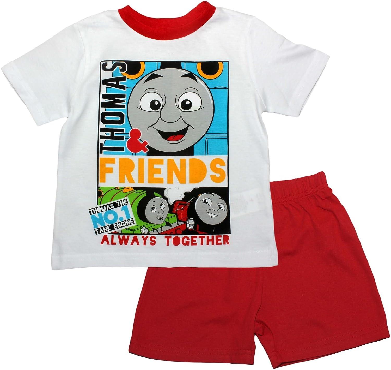 Thomas The Tank Lets Go Short Sleeve Pyjama Set