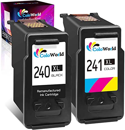 Inktopia Remanufactured Ink Cartridge Replacement for Canon 241 XL ...