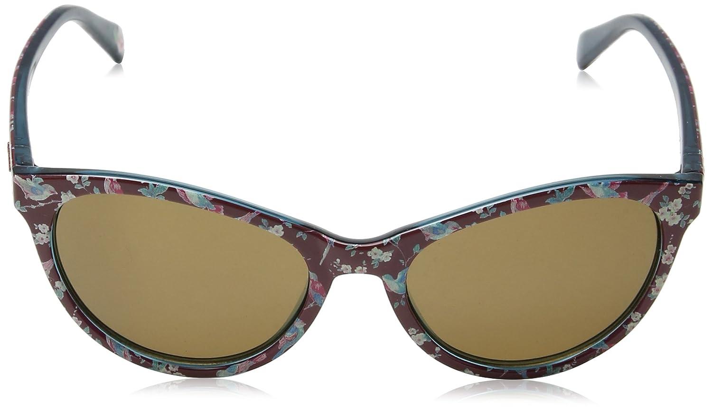 Cath Kidston Sunglasses Damen Sonnenbrille Ck500629053, Rot (Burgundy), 53