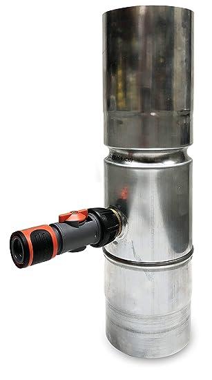 Fallrohr Regensammler Von Curtmaxx Zink Regenwassersammler Mit