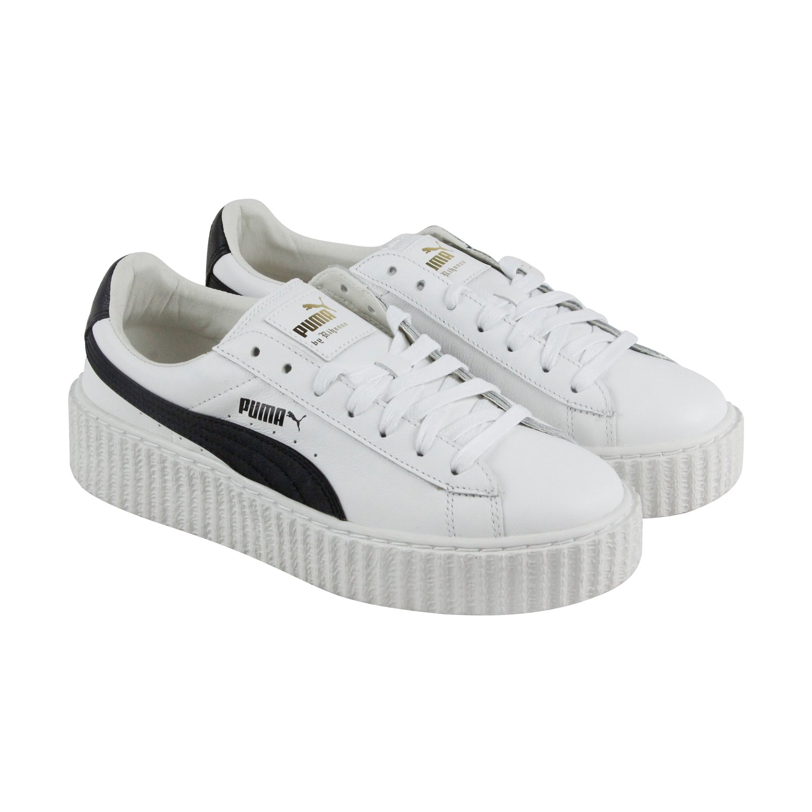 PUMA Women's Creeper White Black Athletic Shoe by PUMA