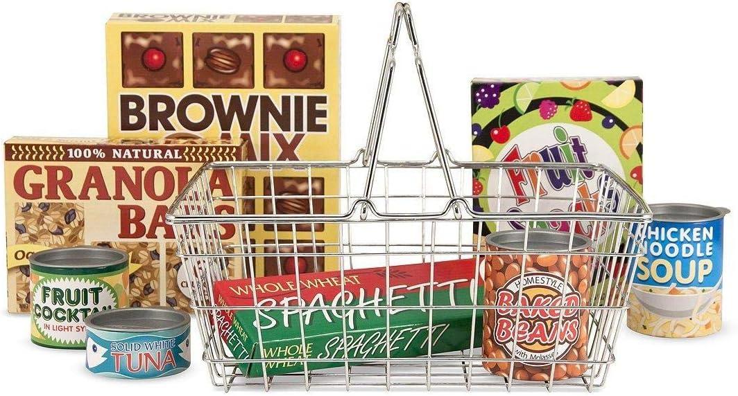 15171 image is for illustrative purpose only Melissa /& Doug Shopping Basket